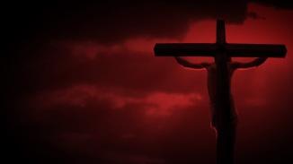 CrucifixionRedSkyHD